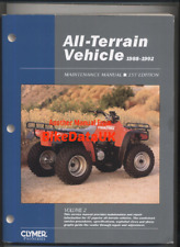 ATV Quad Manual (88-92) Honda TRX Suzuki LT Kawasaki KLF Yamaha YFM Polaris BH97