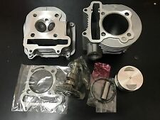 SCOOTER 150CC GY6 OEM CYLINDER KIT CYLINDER HEAD 57.4MM  A8 CAMSHAFT COMBO