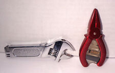 Vintage Wrench and Red Pliers Cigarette Lighters LOT!