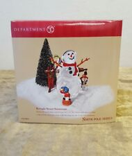 Kringle Street Snowman North Pole Series #56.56833 Department 56