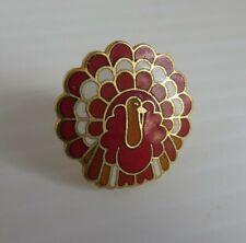 1987 HALLMARK TURKEY ENAMEL PIN                    (INV23390)