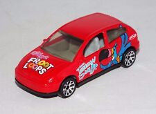 Matchbox 1 Loose Vehicle Ford Focus Red w/ Fruit Loops Tampos