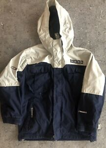 686 Smarty Authentic 3-in-1 Snowboard Jacket Youth Medium Beige/Navy