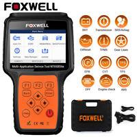 FOXWELL OBD2 Auto Scanner ABS SRS Airbag SAS EPB Oil Service DPF TPS Reset Tool