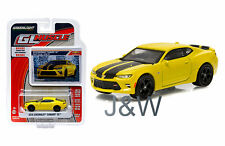Greenlight Chevrolet Camaro Ss 2016 Giallo con Righe Nere 1/64 13160