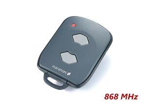 Marantec Digital 392 Handsender 2-Kanal 868,3 MHz Funk Fernbedienung Teckentrup