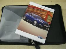 FORD FOCUS  OWNERS MANUAL -OWNERS HANDBOOK 2013-2016 COVERS AUDIO refm56