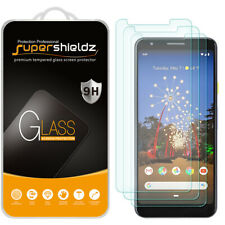 [3-Pack] Supershieldz Tempered Glass Screen Protector for Google Pixel 3a