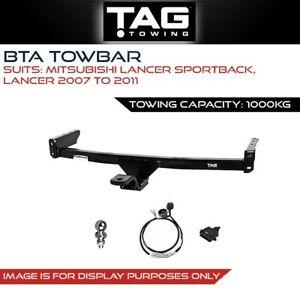 Tag Towbar Fits Mitsubishi Lancer Sportback/Lancer 2007-2011 Tow Capacity 1000Kg