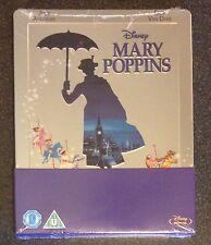 MARY POPPINS Blu-Ray SteelBook Zavvi UK Exclusive Region ABC Disney New OOP Rare