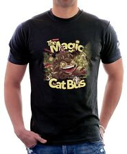 My Neighbour Totoro Magic Cat bus black printed cotton t-shirt 9706