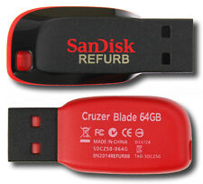 SanDisk SDCZ50-064G 64GB Cruzer Blade USB Flash Drive 64 GB SDCZ50 64G G