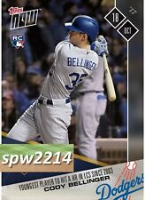 Cody Bellinger 2017 Topps Now #789 Youngest Player to hit a Home Run in LCS