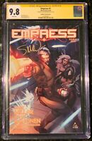 EMPRESS 1 1:100 CGC SS 9.8 SIGNED STEVE MCNIVEN VARIANT NETFLIX SHOW COMING