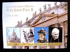 CANONIZATION OF BLESSED POPE JOHN PAUL II MNH OG (SEE NOTE)