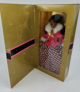 1996 Winter Rhapsody Avon Special Edition Barbie NIB 16354 African American Doll