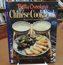 Betty Crocker's Chinese Cookbook Hardcover Recipes & Signed Leeann Chin