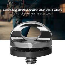 "New 1/4"" Screw For DSLR SLR Camera Strap Tripod Quick Release Plate Mount NT"