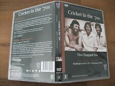 Cricket In The 70's - The Chappell Era (DVD, 2002) Region 4 Cricket Doco DVD VGC