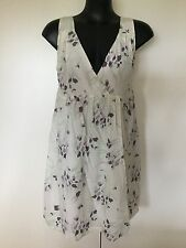 Size 14 Smart Flattering Floral Silk Dress - Tokito