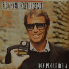 """Franco CALIFANO-io per le strade di alloggi single 7"""" (i584)"""