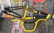 GT BMX Performer Frame, Handlebars Vintage 1988, GT 4130 Freestyle Flatland