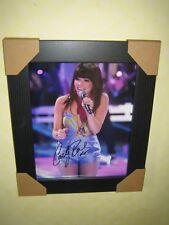 Carly Rae Jepsen Gorgeous Framed Signed Photograph (10X8) with CoA - FREEPOST