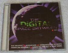 RARE Digital Space Between Vol 3 - 15 tk Compilation CD Exclus tks 1996 EBM Goth