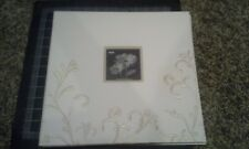 Pioneer 12x12 scrapbook photo album - Cream White Embroidered - light dirt