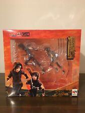 Naruto Shippuden Megahouse G.E.M Series Itachi And Sasuke Uchiha Figure Set