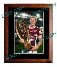 DALY CHERRY EVANS MANLY SEA EAGLES 2011 G/F A3 PHOTO 1