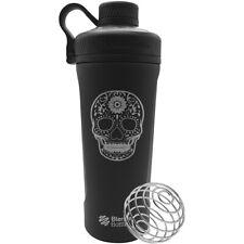 Blender Bottle Sugar Skull Radian 26 oz. Stainless Steel Shaker - Matte Black