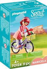 PLAYMOBIL Spirit Riding Free 70124 Maricela mit Fahrrad NEU OVP