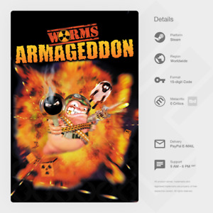 Worms Armageddon (PC) - Steam Key [GLOBAL, MULTI-LANG, INSTANT]