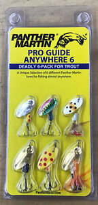 Panther Martin Pro Guide Anywhere 6 Deadly 6-Pack For Trout