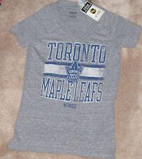NEW NHL Toronto Maple Leafs T Shirt Tri Blend V Style Women Ladies XL NWT