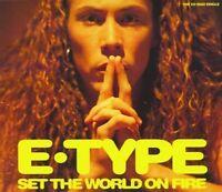 E-Type Set the world on fire (1994, #8530172) [Maxi-CD]