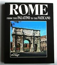 Rome, From the PALATINO to the VATICANO - 143pp - Full Colour - MINT