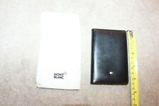 MONT BLANC GORGEOUS CREDIT CARD HOLDER - NEVER USED