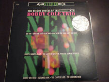 """Bobby Cole Trio LP, Unique Sounds Of..., Promo,12"""", Play Tested"""