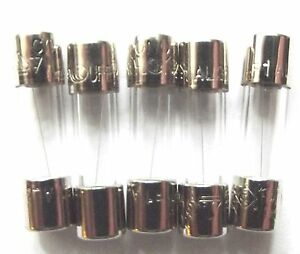 Fuse 1a  20mm LBC Quick Blow Glass F1A  L 250v  Fast x5pcs