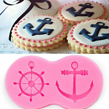 3D Anchor Rudder Silicone Fondant Chocolate Cake Decorating Baking Mold Tools
