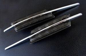Side Indicators LED BMW Serie 3 E46 Serie 5 E60 E61 X3 E83 M2 Black