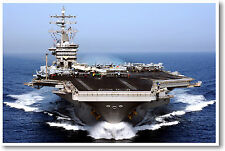Navy Aircraft Carrier - POSTER