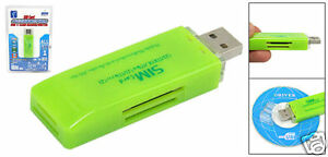 card reader+sim card2 - SAVE your mobile phone contacts BEFORE IT IS LOST
