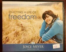 JOYCE MEYER 4 CD SET~ENJOYING A LIFE OF FREEDOM~AUDIOBOOK