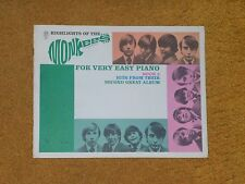 Monkees songbook Highlights-Monkees-Easy Piano Book 2 Hits-2nd Great Album 1967