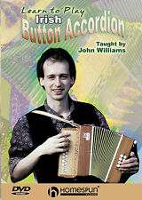 Learn How To Play The Irish Button Accordion Lesson DVD LESSON TUTOR SONGS STYLE