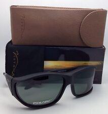 Polarized VISTANA Sunglasses W302G Fits Over Large Rx Eyeglasses Black w/Grey