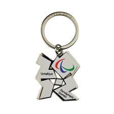 London 2012 Paralympiques Jeux Porte Clé (Blanc)